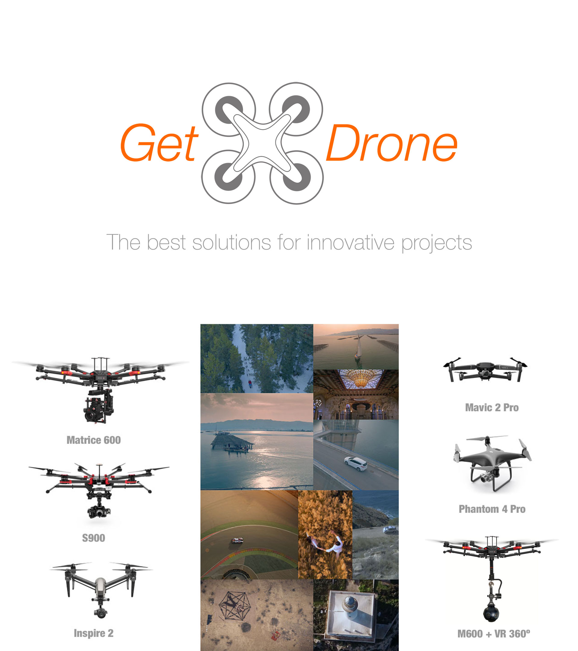 Drone Hire Barcelona - Cutting Edge drone solutions in Spain