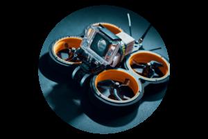 Alquiler drone Cinewoop Taycan