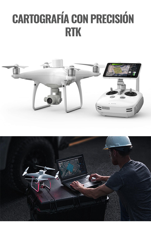 trabajos topografía con drone