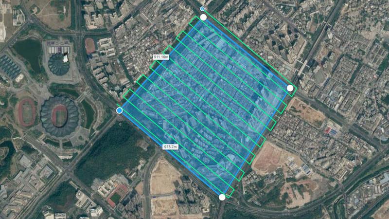 Empresa de Drones para aplicación topografica